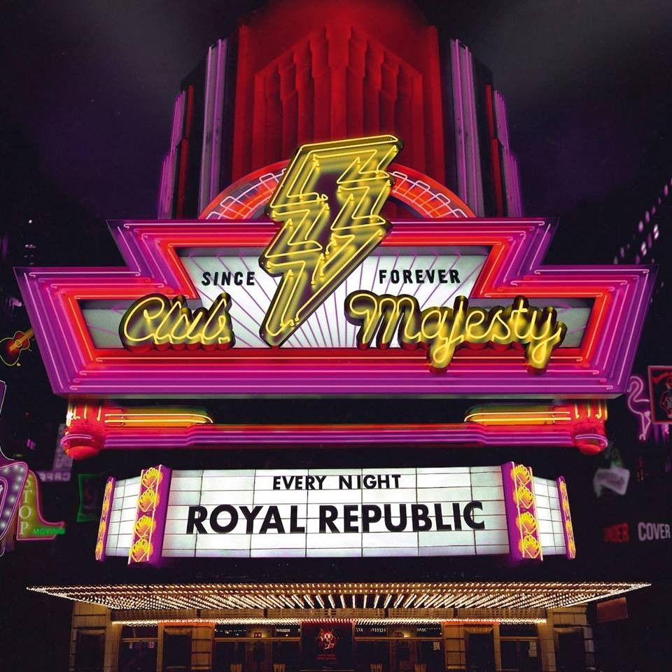 ROYAL REPUBLIC, interview promo de l'album ''Club Majesty''