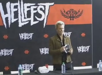 Interview vidéo BILLY IDOL