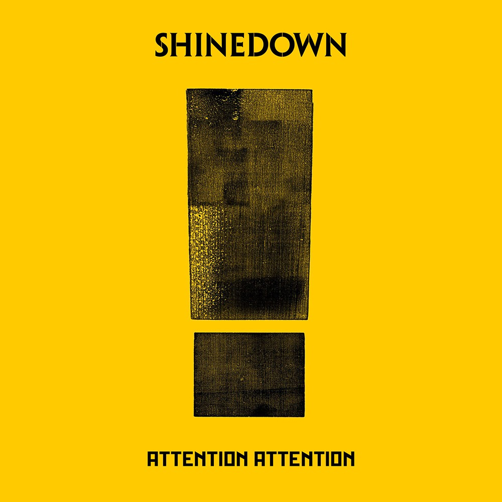 Album Attention Attention par SHINEDOWN