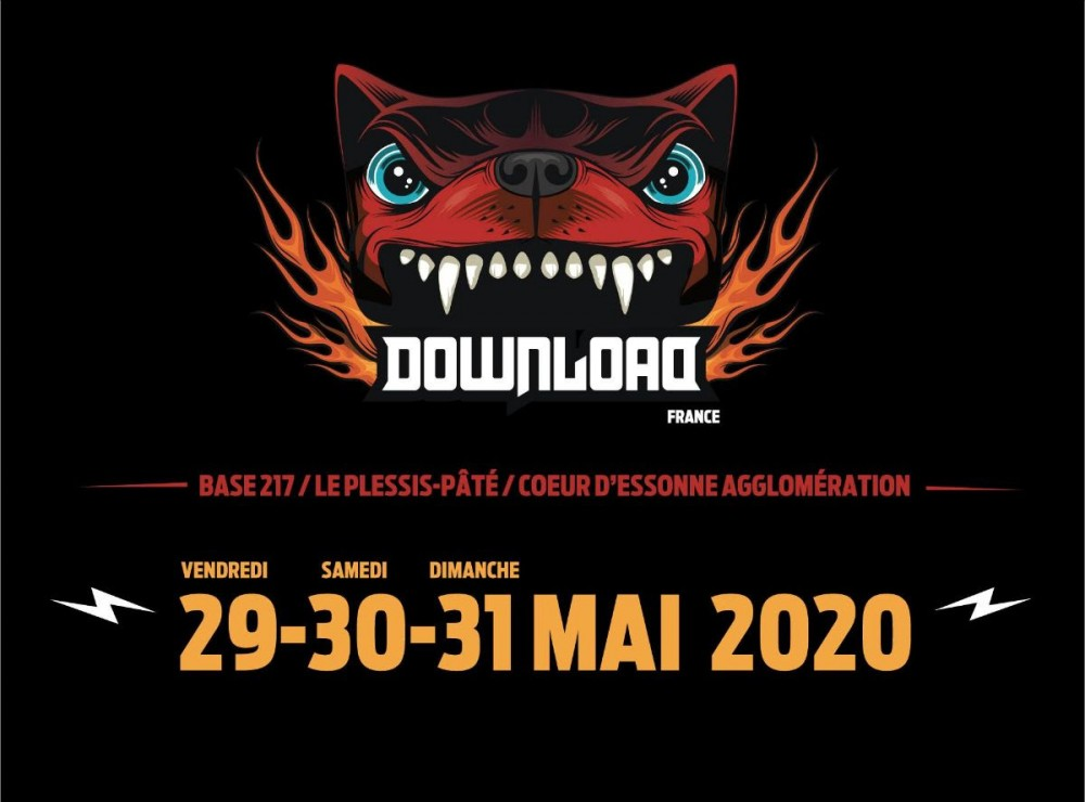 ✈ Download Festival France!!!! De retour en 2020!