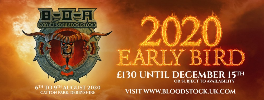 Bloodstock Open Air 2020 du 6 au 9 août 2020