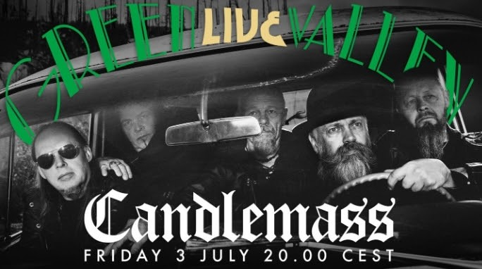 CANDLEMASS : Livestream exclusif !