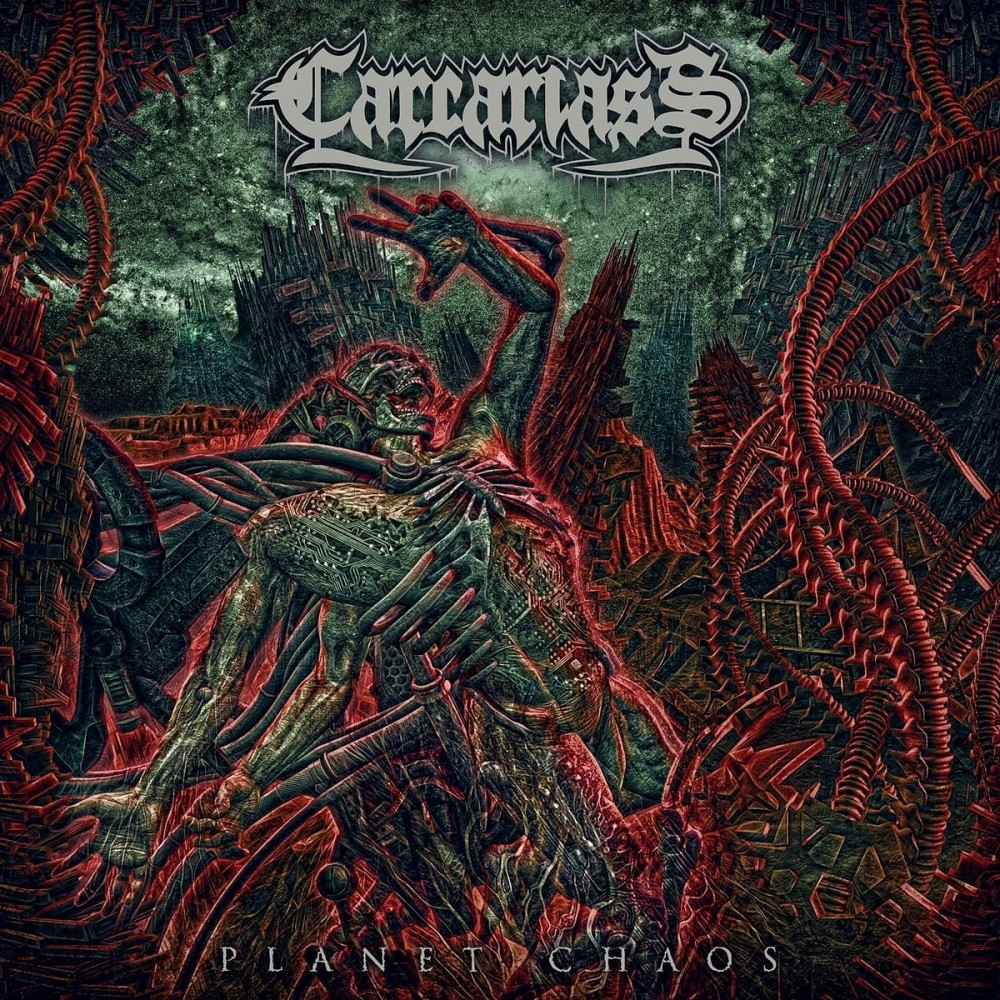 CARCARIASS sort un nouvel album ''PLANET CHAOS'' le 6 décembre 2019 sous le label GREAT DANE RECORDS