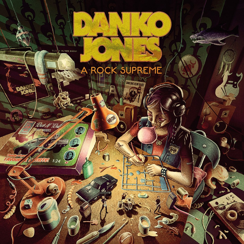 Danko Jones dévoile un nouveau clip 'Fists Up High'!