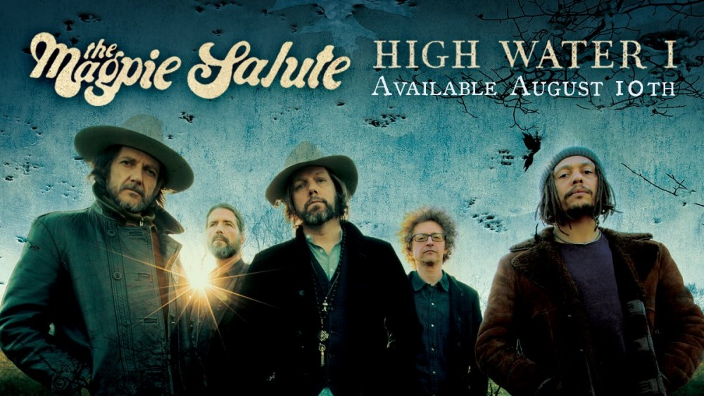 Découvrez THE MAGPIE SALUTE, le groupe de Rich Robinson (ex-The Black Crowes) !