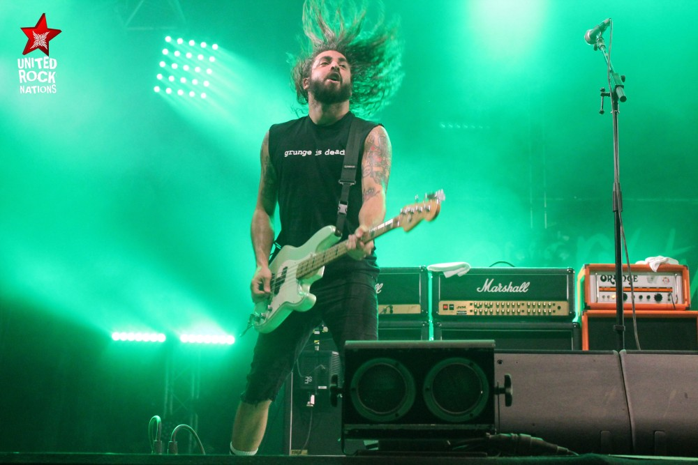 EVERY TIME I DIE, en direct du Hellfest, @Warzone, 18 juin 2017