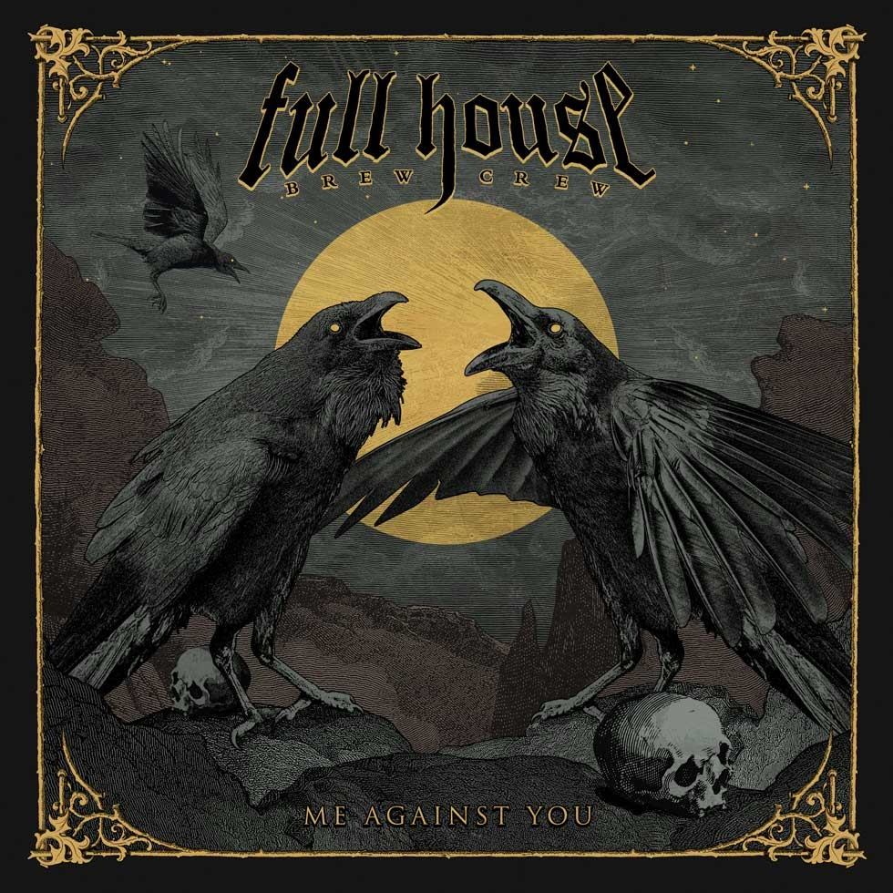 Full House Brew Crew, avec Vagelis Karzis (Rotting Christ), dévoile un nouveau clip  'Hollow God'!