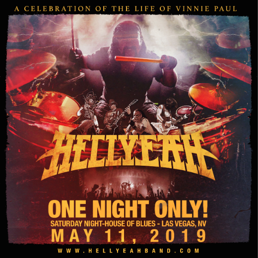 ''HELLYEAH : A Celebration of the Life of Vinnie Paul'' l'évènement d'un soir!
