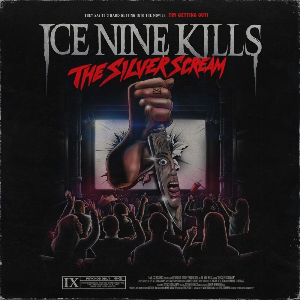 Ice Nine Kills, nouveau clip, 'Stabbing In The Dark'.....