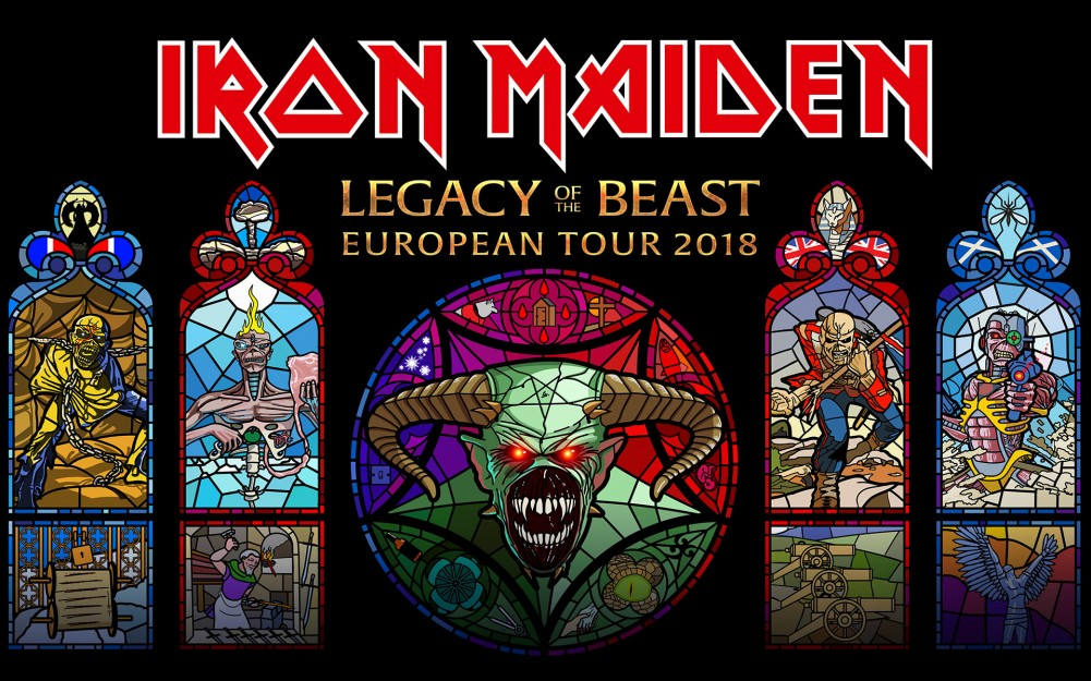 IRON MAIDEN, DATE SUPPLEMENTAIRE 06 JUILLET A PARIS, ACCORHOTELS ARENA !