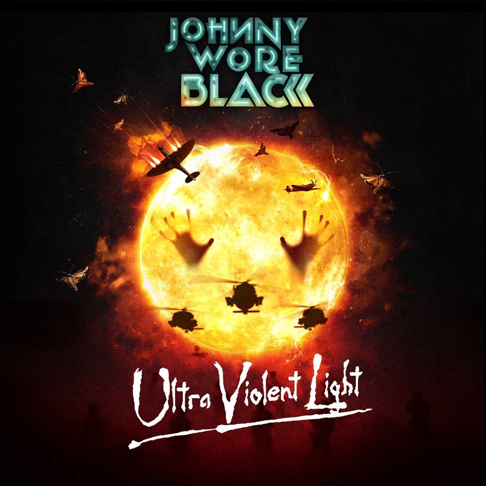 JOHNNY WORE BLACK  Feat. David Ellefson de Megadeth: 'Ultra Violent Light' nouvel album et 'Gun True Love'' nouvelle vidéo!