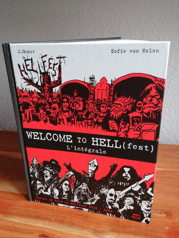 La bande dessinée ''Welcome to Hell(fest) – Carnet de voyage du Hellfest'', enfin disponible!