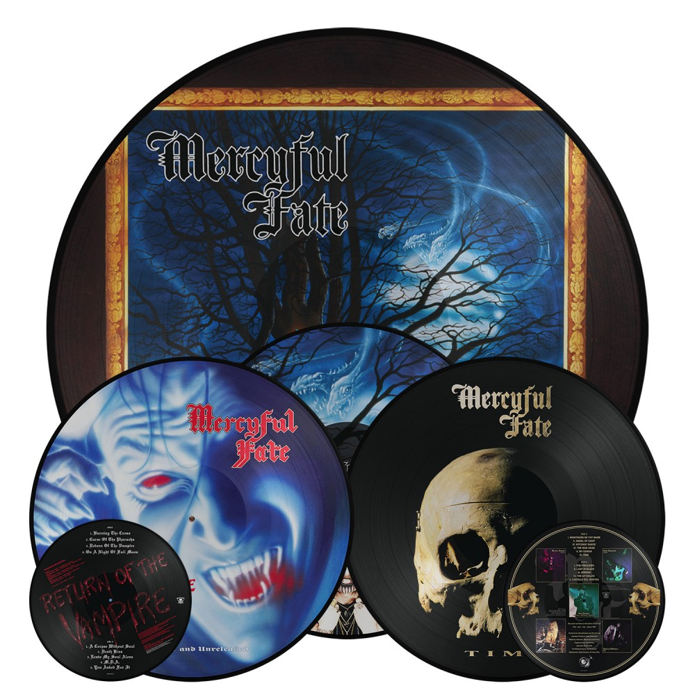 Mercyful Fate : Réedition des albums  'In the Shadows', 'Return of the Vampire', 'Time' via Metal Blade Records!