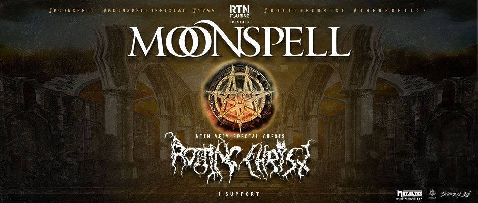 Moonspell & Rotting Christ - Toulouse - 2019