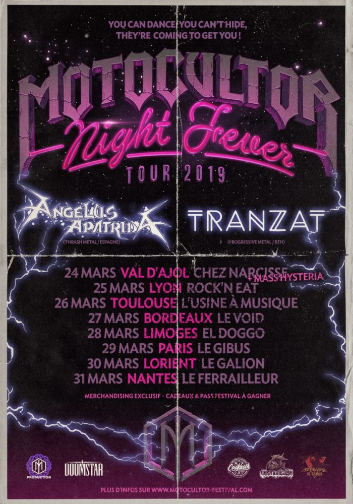 MOTOCULTOR NIGHT FEVER  TOUR 2019!