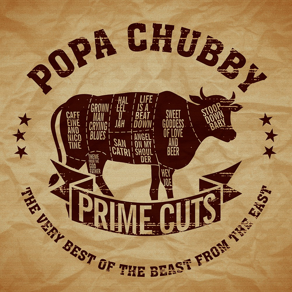 Popa Chubby, ''Prime Cuts, The Very Best Of The Beast From The East'' le nouvel album!