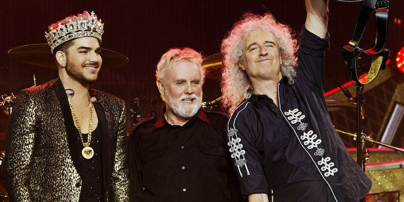 Queen & Adam Lambert à Paris 2020 le 26 mai 2020