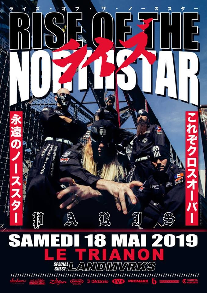 RISE OF THE NORTHSTAR revient dans la capitale le 18/05/2019!