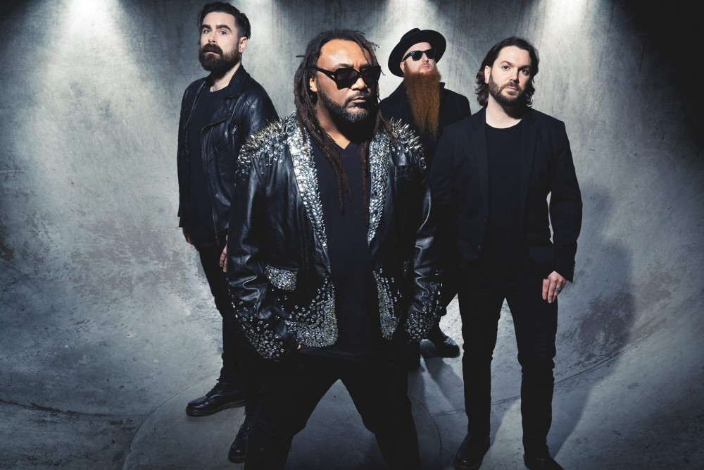 Skindred à Paris le 18 décembre 2019