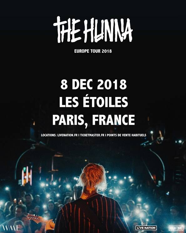 THE HUNNA sera de passage à Paris !
