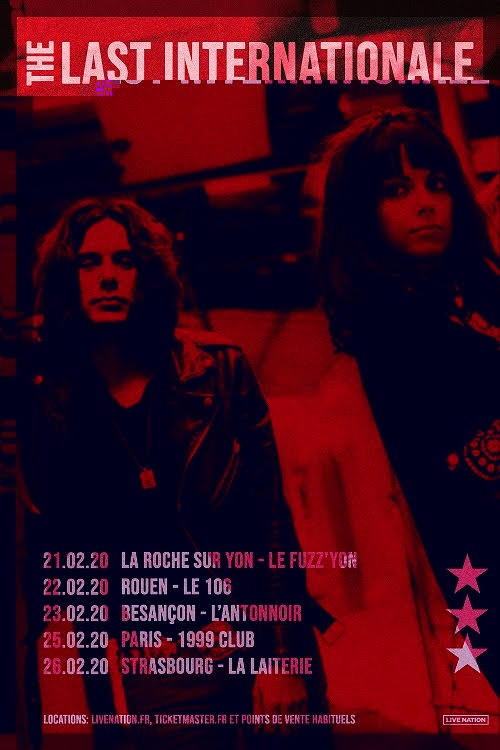 The Last Internationale, cinq concerts en France fin février ! Les ''protégés'' de Tom Morello, vu en 1ère partie de Rival Sons