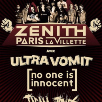 Ultra Vomit, No One Is Innocent, Tagada Jones @Zenith de