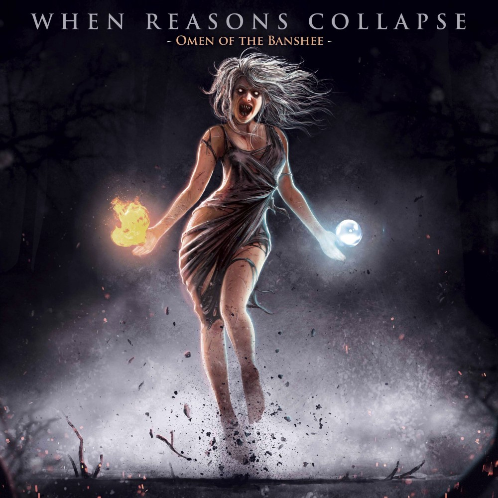 WHEN REASONS COLLAPSE - Nouvel album ''Omen Of The Banshee'' prévu le 25 mai !