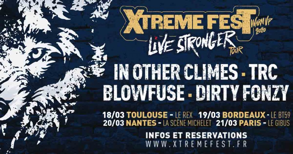 Xtreme Fest warm up / Live Stronger Tour