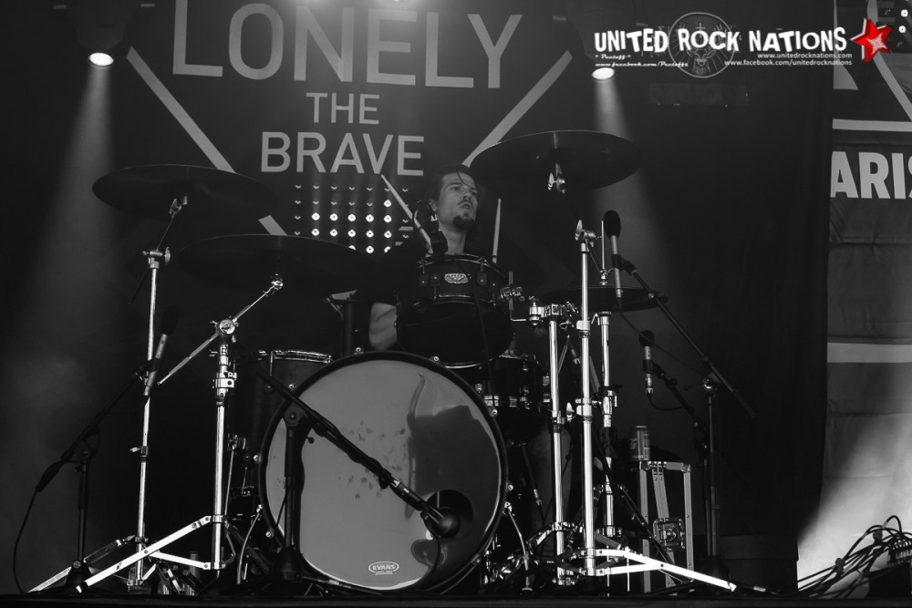 Portfolio LONELY THE BRAVE @ Download Festival France J-2!
