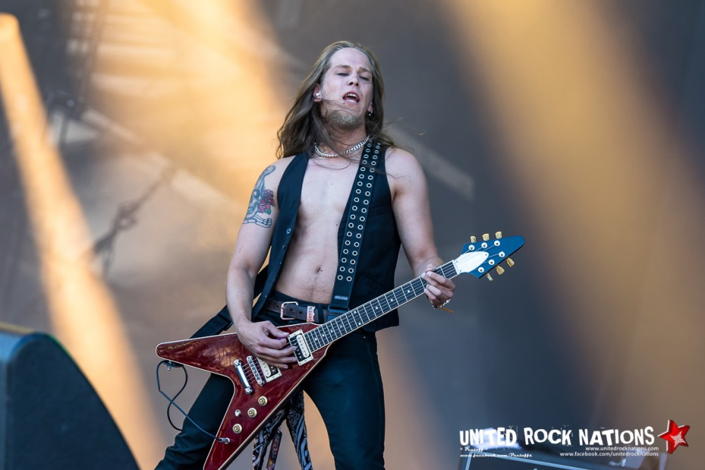Report THE NEW ROSES @ HellFest 2017 !