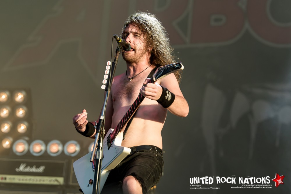 Report AIRBOURNE @ HellFest 2017 !