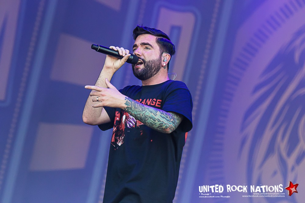 Report A DAY TO REMEMBER @ HellFest 2017 !