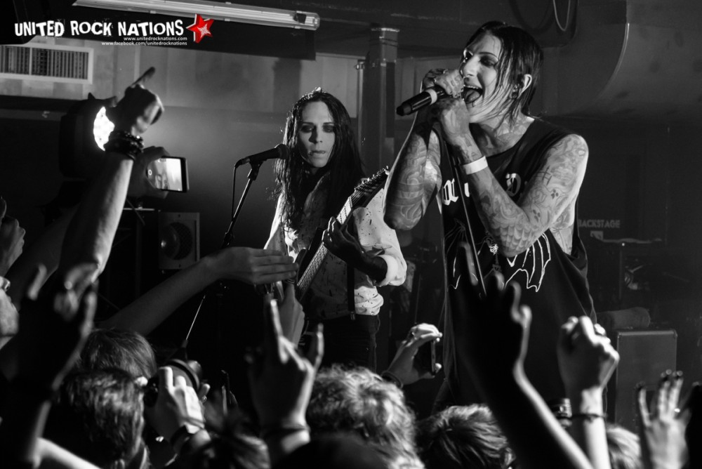 Report Motionless In White au Petit Bain le 12/06/2017