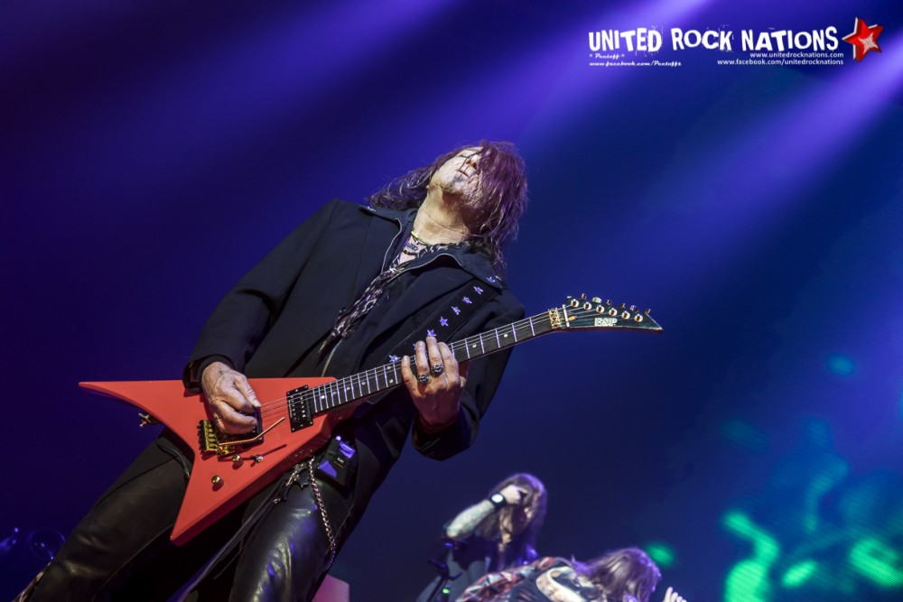 Report HELLOWEEN @ Zénith de Paris le 15/11/2017!