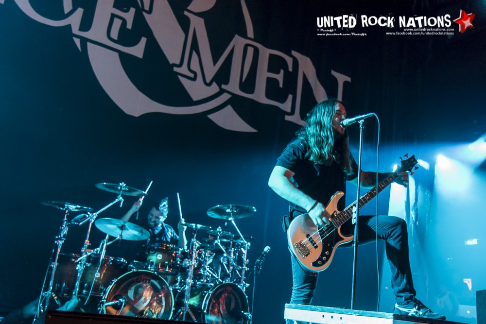 Report OF MICE & MEN @ l'Olympia le 04/12/2017!