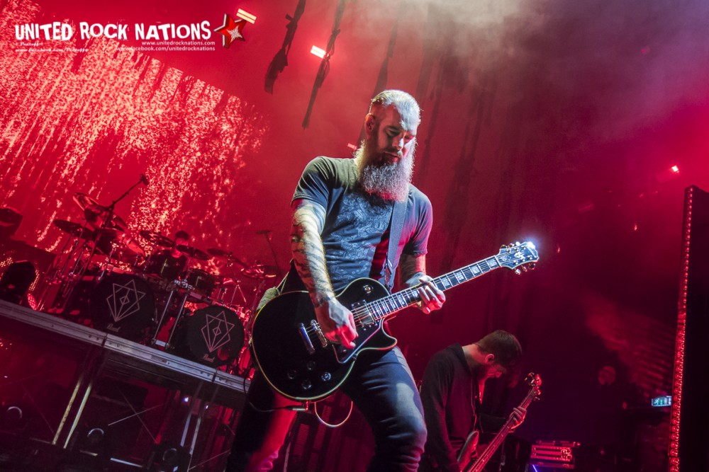 Report IN FLAMES @ L'Olympia le 04/12/2017!