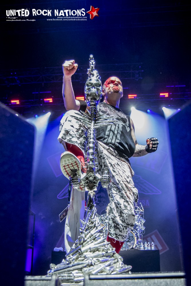 Report FIVE FINGER DEATH PUNCH @ l'Olympia le 04/12/2017