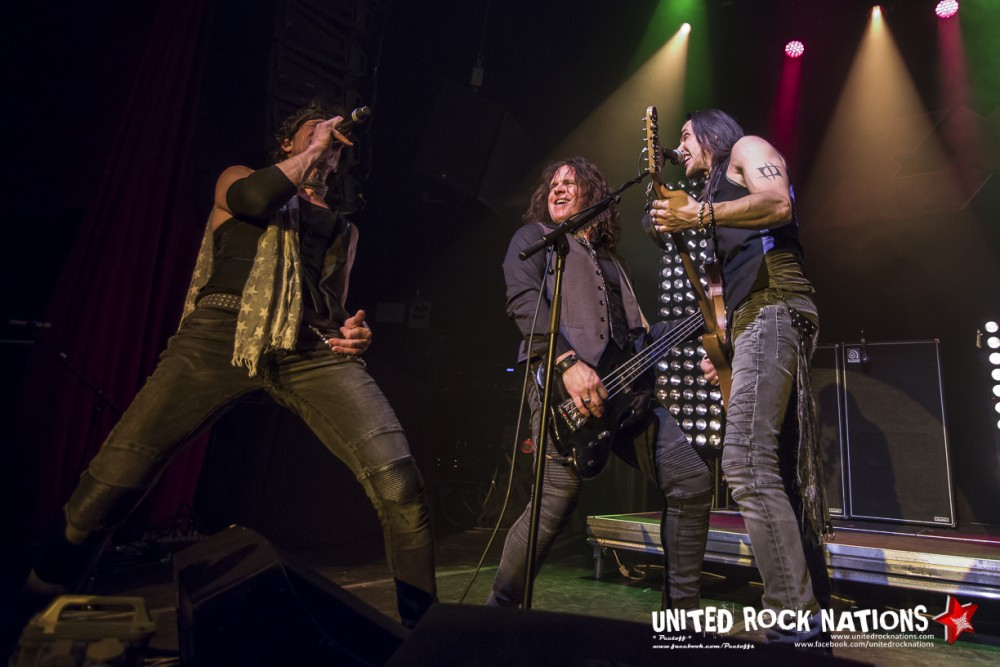 Report EXTREME @ Bataclan le 10/12/2017!