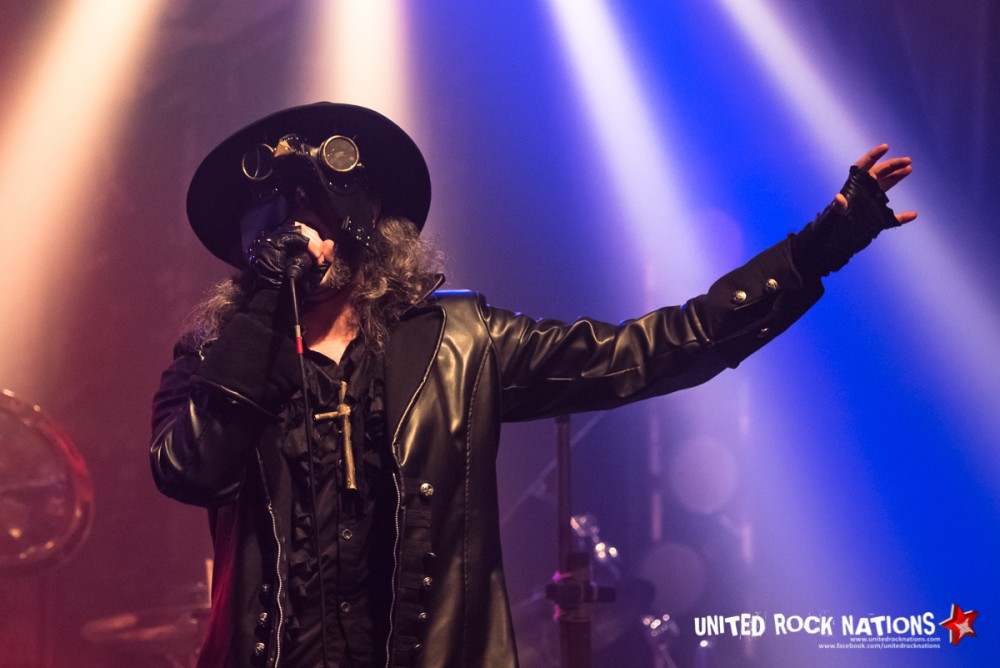 Report Moonspell à La Machine du Moulin Rouge le 19/02/2018