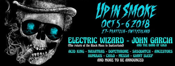 Festival Up In Smoke : ELECTRIC WIZARD et six groupes supplémentaires confirmés !