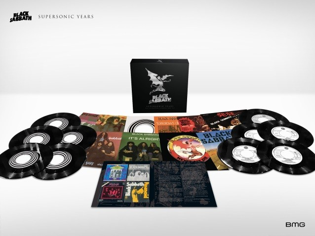 BLACK SABBATH dévoile la vidéo de l'unboxing de « Supersonic Years - The Seventies Singles box set »