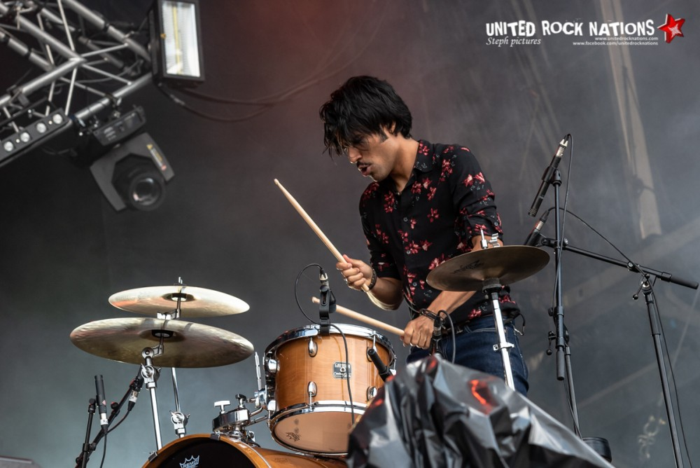 WAKAN TANKA sur la scène Main Stage 2 du Download Festival 2018