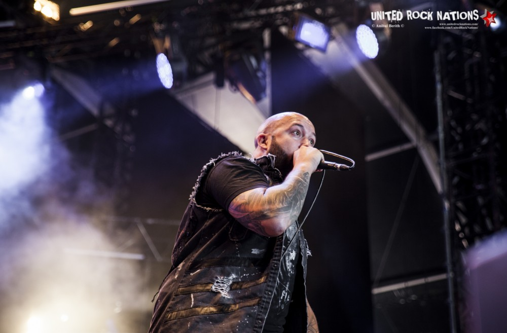 BENIGHTED sur Altar au Hellfest 2018