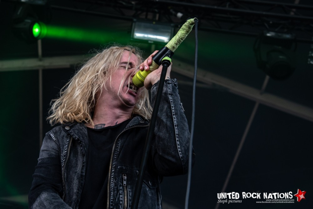 UNDEROATH sur la scène Warbird du Download Festival 2018
