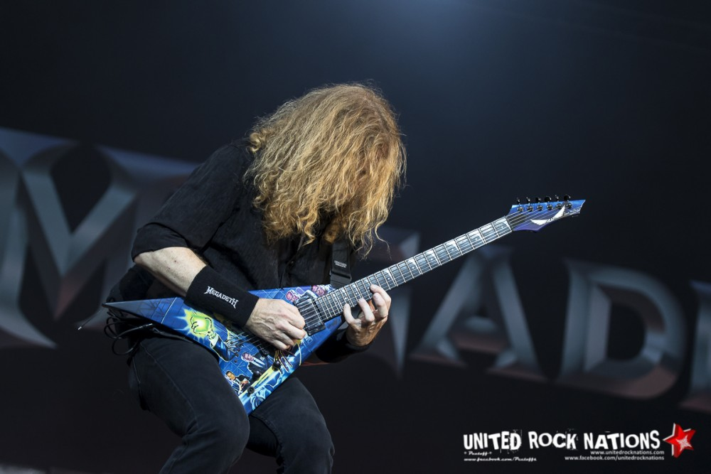 MEGADETH, Download Paris 2016 !