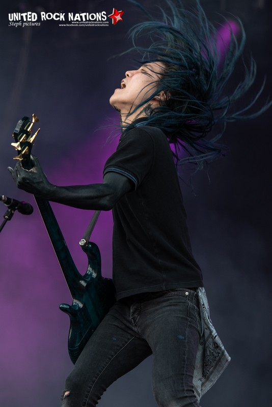 CROSSFAITH sur la scène Main Stage 1 du Download Festival 2018
