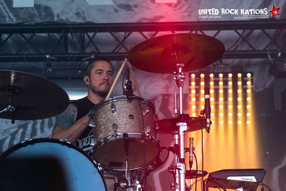 THRICE sur la scène Warbird du Download Festival 2018