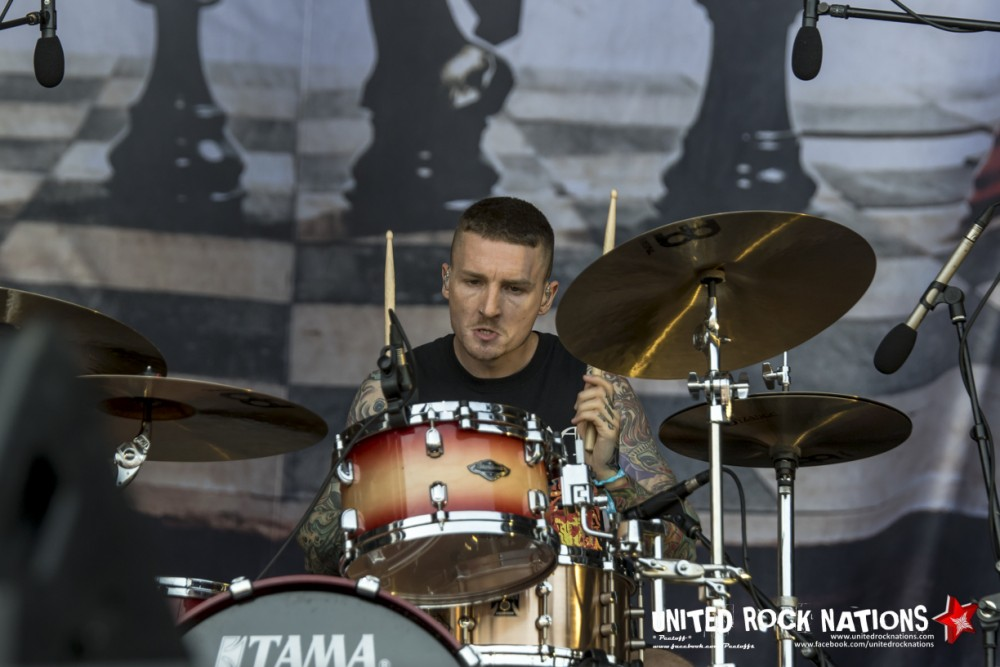 STRAY FROM THE PATH sur Main Stage 2 au Hellfest 2018