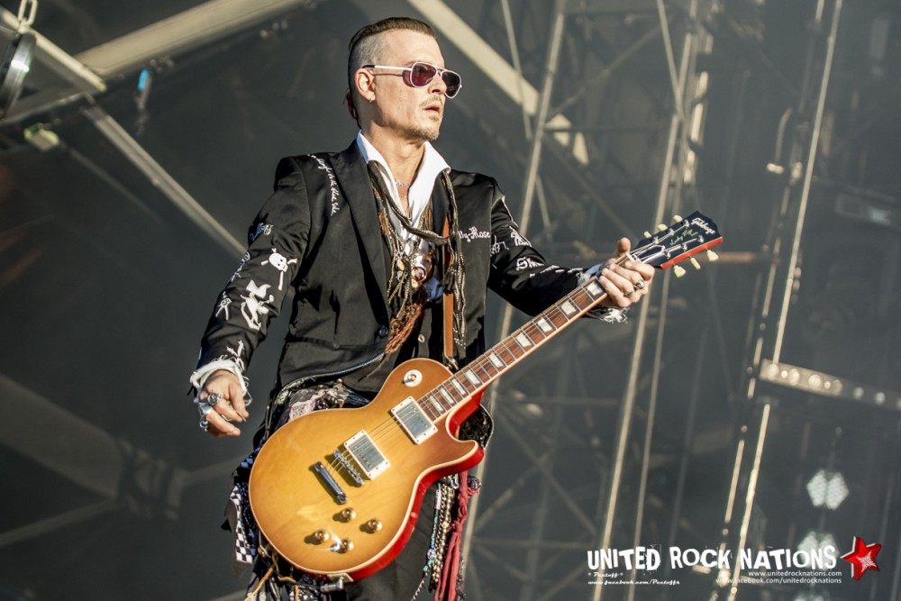 HOLLYWOOD VAMPIRES sur Main Stage 1 au Hellfest 2018