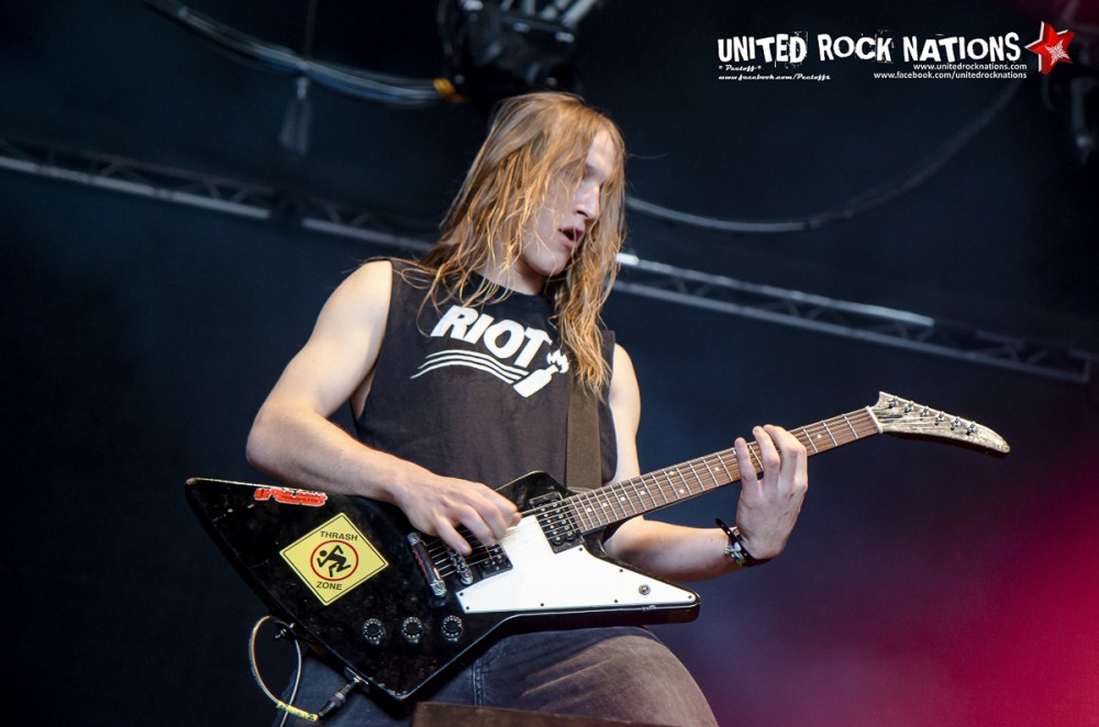 DUST BOLT, live Hellfest 2016